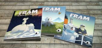 Fram, ursul polar prinde viață